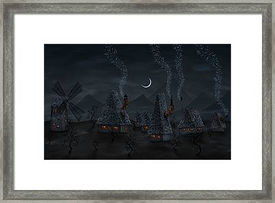 Village Of Music Framed Print by Gianfranco Weiss