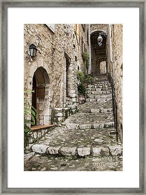 Village Of Saint Paul De Vance Framed Print