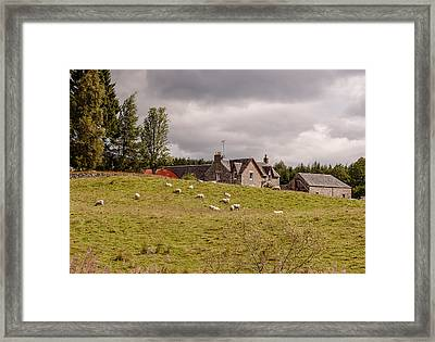 Framed Print featuring the photograph Village by Sergey Simanovsky