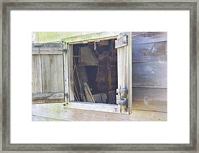 Framed Print featuring the photograph Village Smithy by David Rizzo