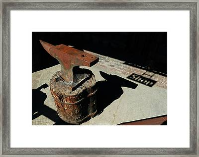 Village Smithy  Framed Print