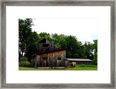 Framed Print featuring the photograph Village Winery by Cathy Shiflett