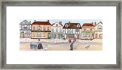 Villaggio Antico Framed Print by Loredana Messina