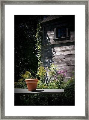 Framed Print featuring the digital art Villagio by Barbara S Nickerson