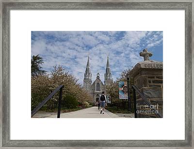 Villanova College Framed Print