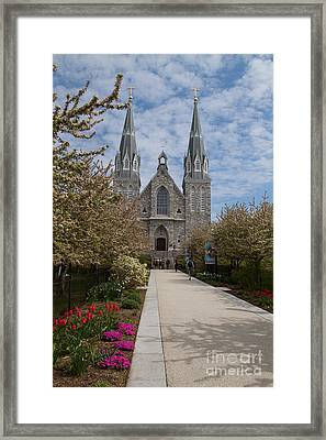 Villanova University Main Chapel  Framed Print