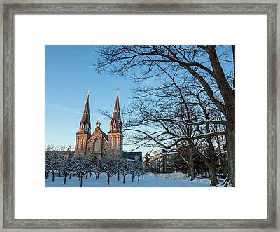 Villanova Winter Saint Thomas Framed Print