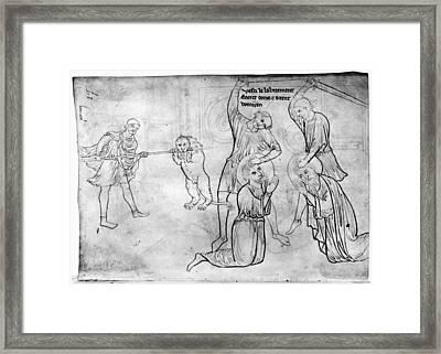 Villard De Honnecourt (c1225-1250) Framed Print