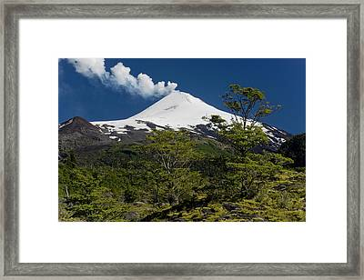 Villarrica National Park, Chile Framed Print