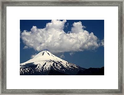 Villarrica Volcano Framed Print by Arie Arik Chen