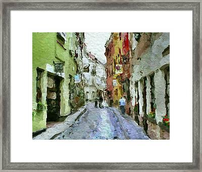 Vilnius Old Town 36 Framed Print by Yury Malkov