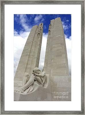 Vimy Ridge Memorial France Framed Print