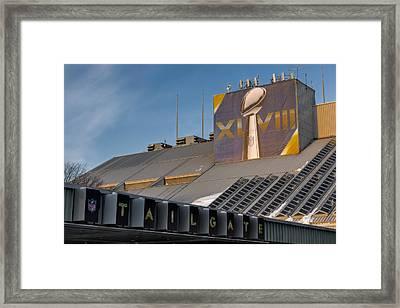 Vince Lomardi Xlviii  Framed Print