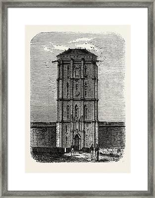 Vincennes The Dungeon Framed Print by Litz Collection