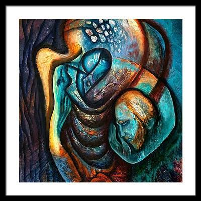Inspired By Van Gogh Framed Prints