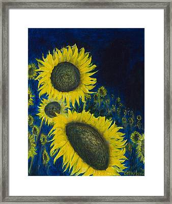 Framed Print featuring the painting Vincent Remembered by Cathy Long