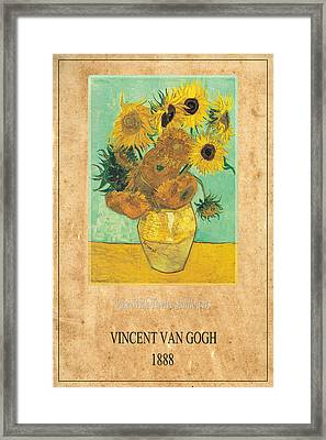 Vincent Van Gogh 2 Framed Print by Andrew Fare