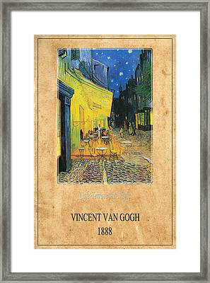Vincent Van Gogh 3 Framed Print by Andrew Fare