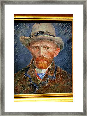 Vincent Van Gogh. Framed Print by Vincent Van Gogh