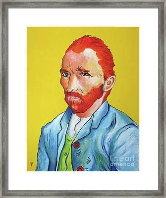 Vincent Van Gogh Framed Print by Venus