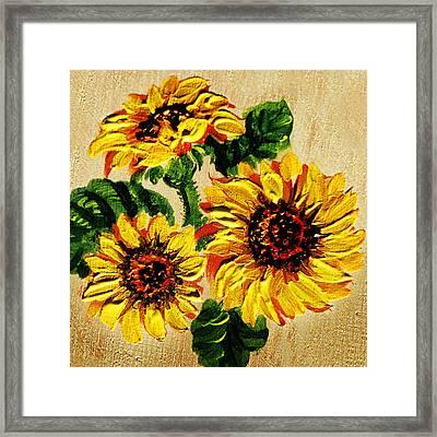 Vincent Van Gogh Would Cry  Framed Print