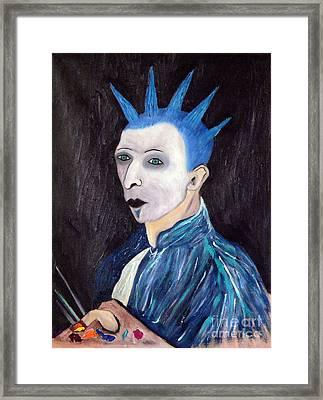 Vincent Van Goth Framed Print by Gerhardt Isringhaus