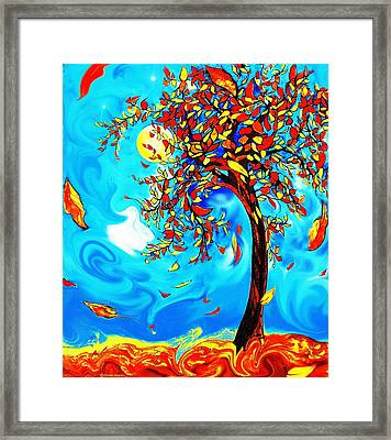 Vincent's Tree Framed Print