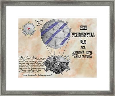 Vindervill 2.0 Framed Print