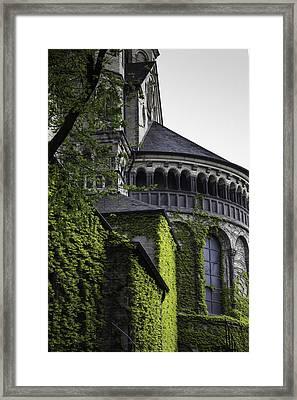 Vine Covered Church Cologne Framed Print by Teresa Mucha