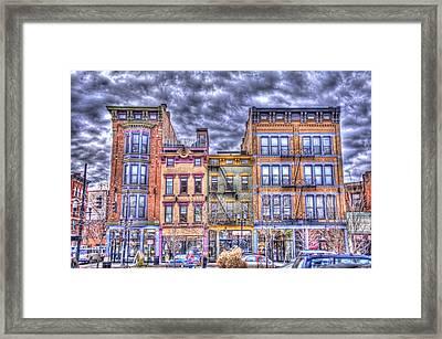 Vine Street Framed Print by Daniel Sheldon