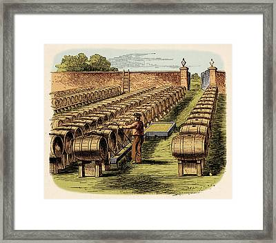 Vinegar Ground Framed Print