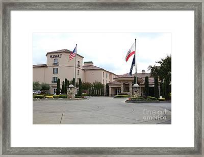 Vineyard Creek Hyatt Hotel Santa Rosa California 5d25787 Framed Print