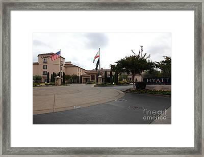 Vineyard Creek Hyatt Hotel Santa Rosa California 5d25789 Framed Print