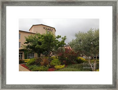 Vineyard Creek Hyatt Hotel Santa Rosa California 5d25795 Framed Print