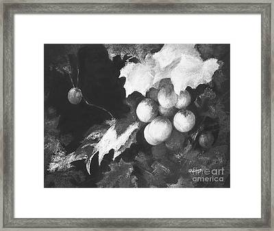 Vineyard II Framed Print