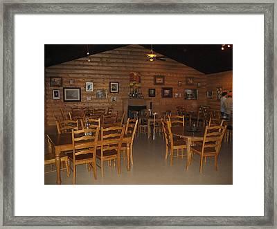Vineyards In Va - 121211 Framed Print