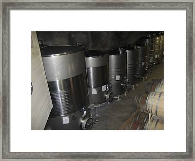 Vineyards In Va - 121217 Framed Print by DC Photographer