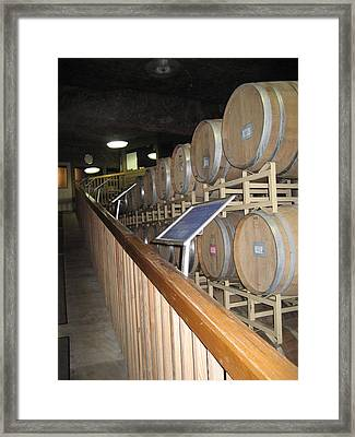 Vineyards In Va - 121222 Framed Print by DC Photographer