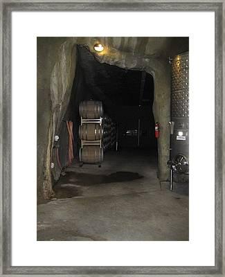 Vineyards In Va - 121223 Framed Print by DC Photographer