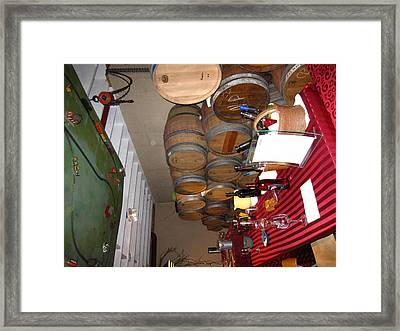 Vineyards In Va - 121225 Framed Print