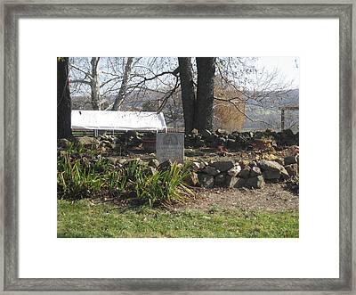 Vineyards In Va - 121227 Framed Print by DC Photographer