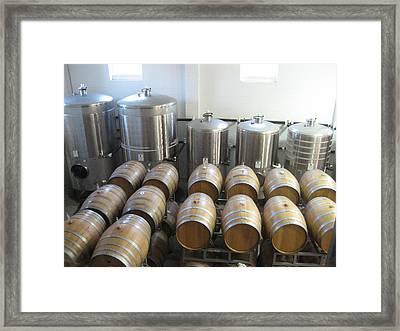 Vineyards In Va - 121232 Framed Print
