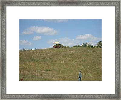 Vineyards In Va - 121243 Framed Print by DC Photographer