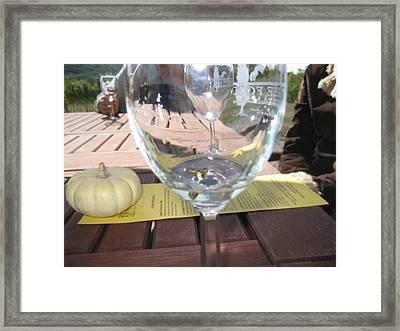 Vineyards In Va - 121245 Framed Print by DC Photographer