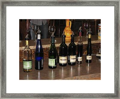 Vineyards In Va - 12126 Framed Print by DC Photographer