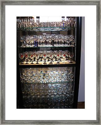 Vineyards In Va - 121261 Framed Print by DC Photographer