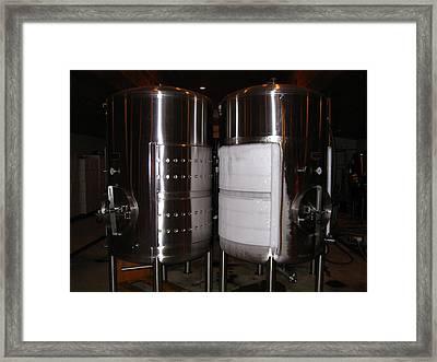 Vineyards In Va - 121262 Framed Print by DC Photographer