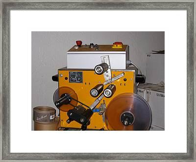 Vineyards In Va - 121265 Framed Print by DC Photographer