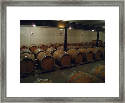 Vineyards In Va - 121270 Framed Print