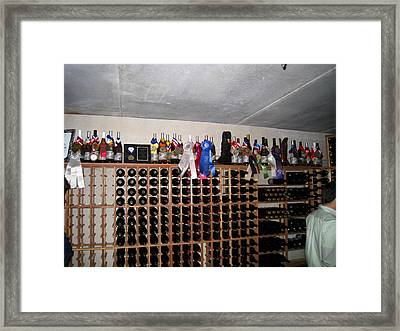 Vineyards In Va - 121272 Framed Print by DC Photographer